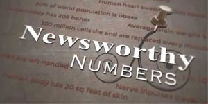 Newsworthy Numbers